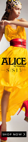 ALICE by Temperley Spring Summer 13 Collection
